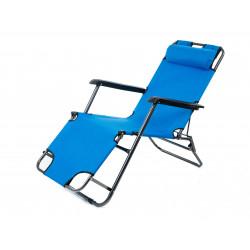 Фунционален плажен стол TLH-3068R светлосин