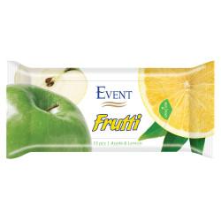 Мокри кърпички Ябълка и лимон 15 броя