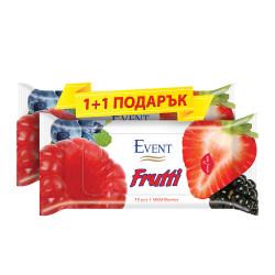 Мокри кърпички Wild berries - 15 броя / промо пакет 1+1