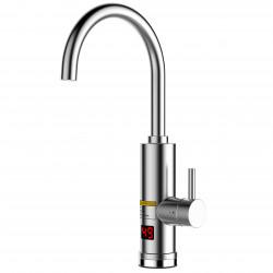 Стоящ смесител с елeктрически водонагревател с метален корпус Cascada DO-D20
