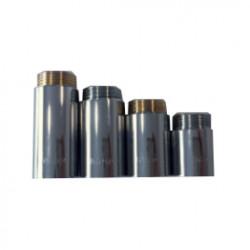 Месингов водопроводен удължител Sakar 3/4х20 тежък