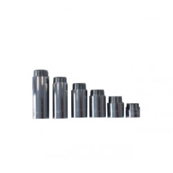 Месингов водопроводен удължител Sakar 1/2х90 тежък