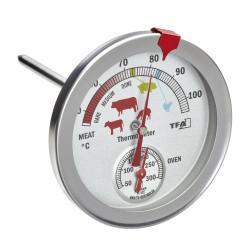 Термометър за печене с измерване на температурата и на фурната TFA