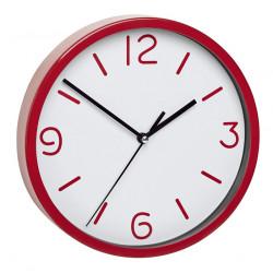 Безшумен стенен часовник TFA / червен