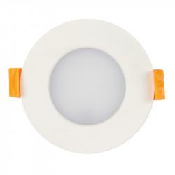 LED луна за вграждане 7W топла светлина