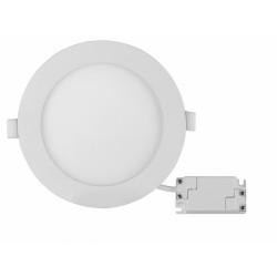 LED панел за вграждане кръг 18W топла светлина