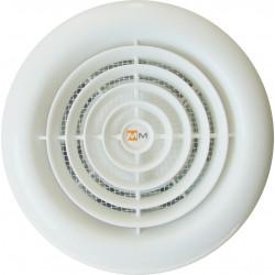 Кръгъл вентилатор за баня с клапа ММ 120 18W