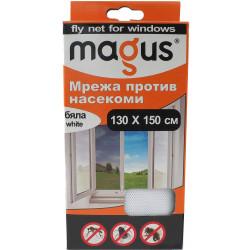 Мрежа против насекоми Magus бяла 1.3м х 1.5м