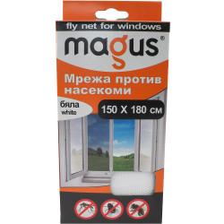 Мрежа против насекоми Magus бяла 1.5м х 1.8м