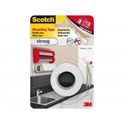 Двустранна монтажна лента 3M Scotch 40011915 вътрешна 1.5м/19мм PE