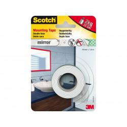 Двустранна лента за огледала 3M Scotch 40031915 1.5м/19мм PU