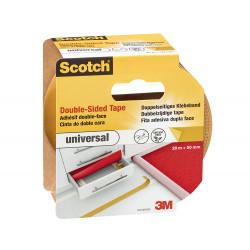 Двустранна лента за подови настилки 3M Scotch 20м/50мм