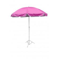 Плажен чадър WH002-3 розов / 240см