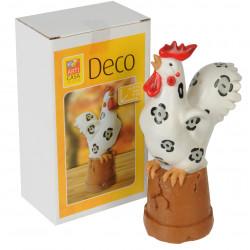 Великденска кокошка 9,5х6,5х9,5см