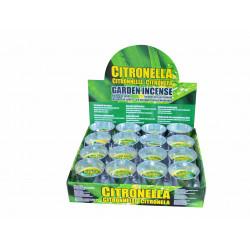 Свещ Citronella против насекоми в метална купичка 9 см