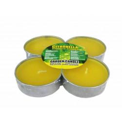 Citronella чаени свещи против насекоми джъмбо 4 бр.