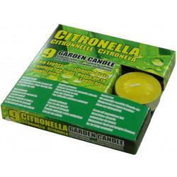 Citronella чаени свещи против насекоми 9 бр.