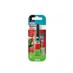 Супер лепило Bison Super Glue ® 3гр течно / карта