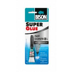 Супер лепило с контрол на капката Bison Super Glue Control ® блистер 3гр
