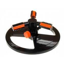 Разпръсквач на кръгла основа с 3 рамена