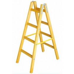 Дървена стълба с 4 стъпала 132 см