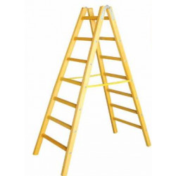 Дървена стълба със 7 стъпала 222 см