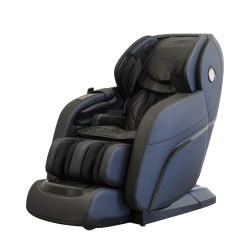 Професионален масажен стол Rexton RK-8900S / 4D масаж на цяло тяло / черно и синьо