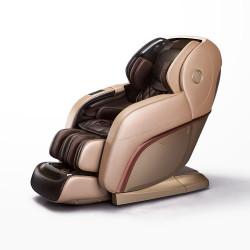 Професионален масажен стол Rexton RK-8900S / 4D масаж на цяло тяло / светло и тъмно кафяво