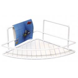Ъглова етажерка за баня 26x23x11cm / LT 007