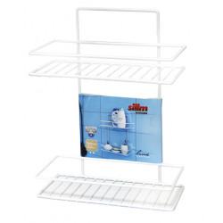 Етажерка за баня на 2 етажа 26x13x35cm / LT 005