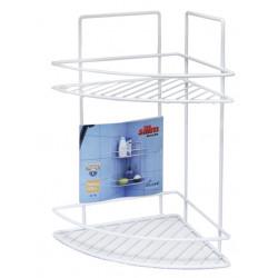 Ъглова етажерка за баня на 2 етажа 26x23x35cm / LT 008