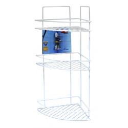 Ъглова етажерка за баня на 3 етажа 26x23x53cm / LT 009