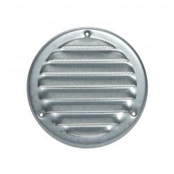Вентилационна решетка метал ø125мм цинк