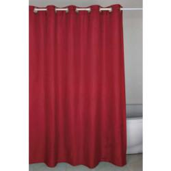 Душ завеса червена 180 - 200 см