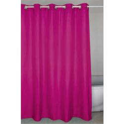 Душ завеса розова 180 - 200 см