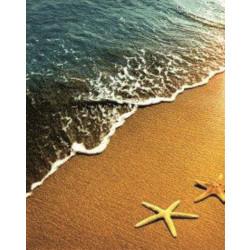 Душ завеса Звезди на плажа 180 - 200 см