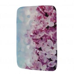 Постелка за баня Лилави цветя