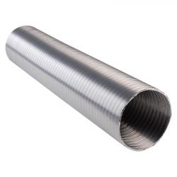 Алуминиев въздуховод ф100 / 1 метър