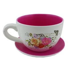 Кашпа чаша Рози 042415D