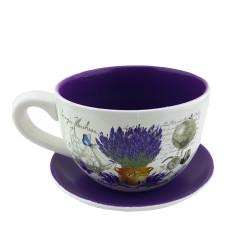 Кашпа чаша Лавандула 042415C