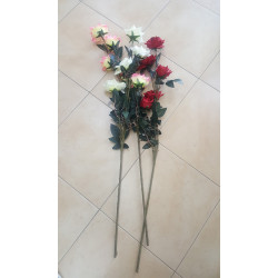 Изкуствени рози 116см 230508
