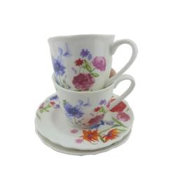 Чаши за кафе Цветя 023706