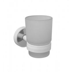 Държач с чаша Kapitan Optimo бяло