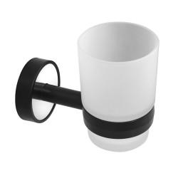 Държач с чаша Kapitan Optimo черно