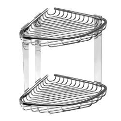 Двойна етажерка с две плитки кошнички Kapitan