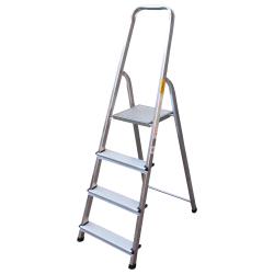 Алуминиева стълба сертифицирана Drabest 3+1 стъпала 125кг