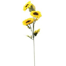 Изкуствен слънчоглед 3-ка 89 см