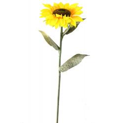 Изкуствен слънчоглед клонка 116см
