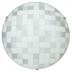 Стъклена плафониера Chess S88 кръг