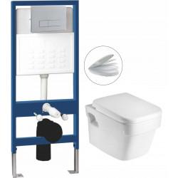 Комплект структура за вграждане с тоалетна чиния Интер Керамик 097AH3448